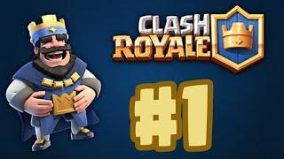 Clash Royale 1 Bölüm (Fena Yenilgi😮)