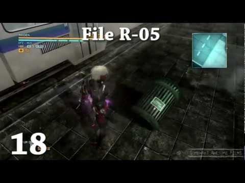 Metal Gear Rising Revengeance All Data Storage Locations Data Mining
