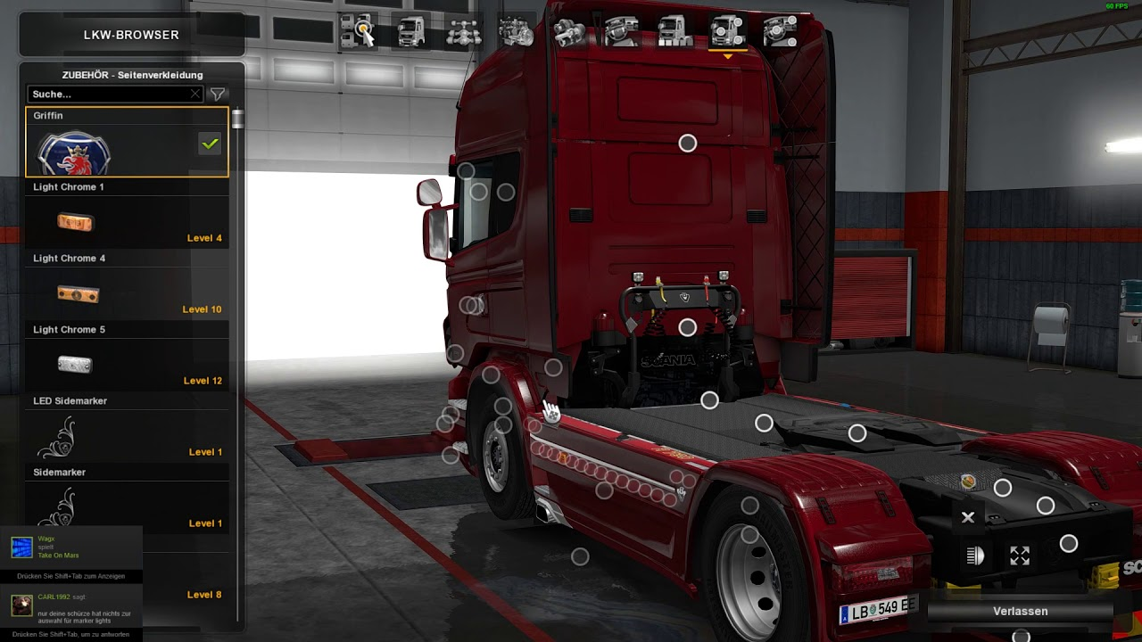 Limited edition black amber dlc for scania rjl