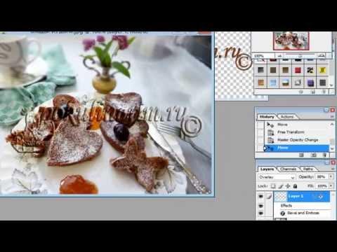 Как создать водяной знак и кисть-штамп в фотошопе