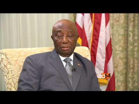 Liberia's Vice President Joseph Boakai