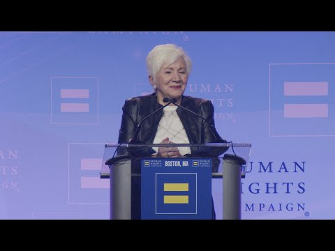 Olympia Dukakis Receives HRC's Ally For Equality Award