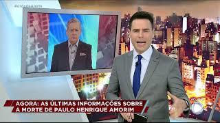Luiz Bacci lamenta morte de Paulo Henrique Amorim