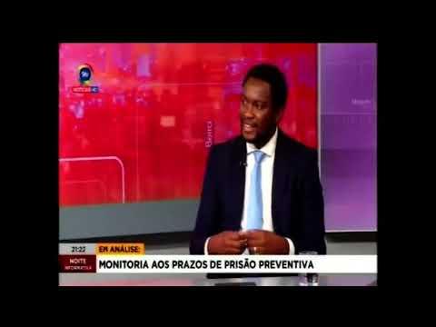Noite Informativa: Monitoria aos prazos de prisão preventiva: Entrevista com Dr Vicente Manjate
