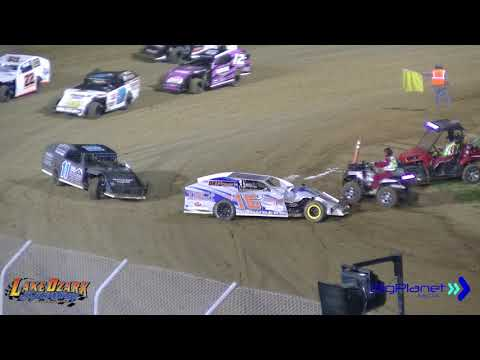 Dirt Track Racing Lake of the Ozarks Speedway USRA B Mods
