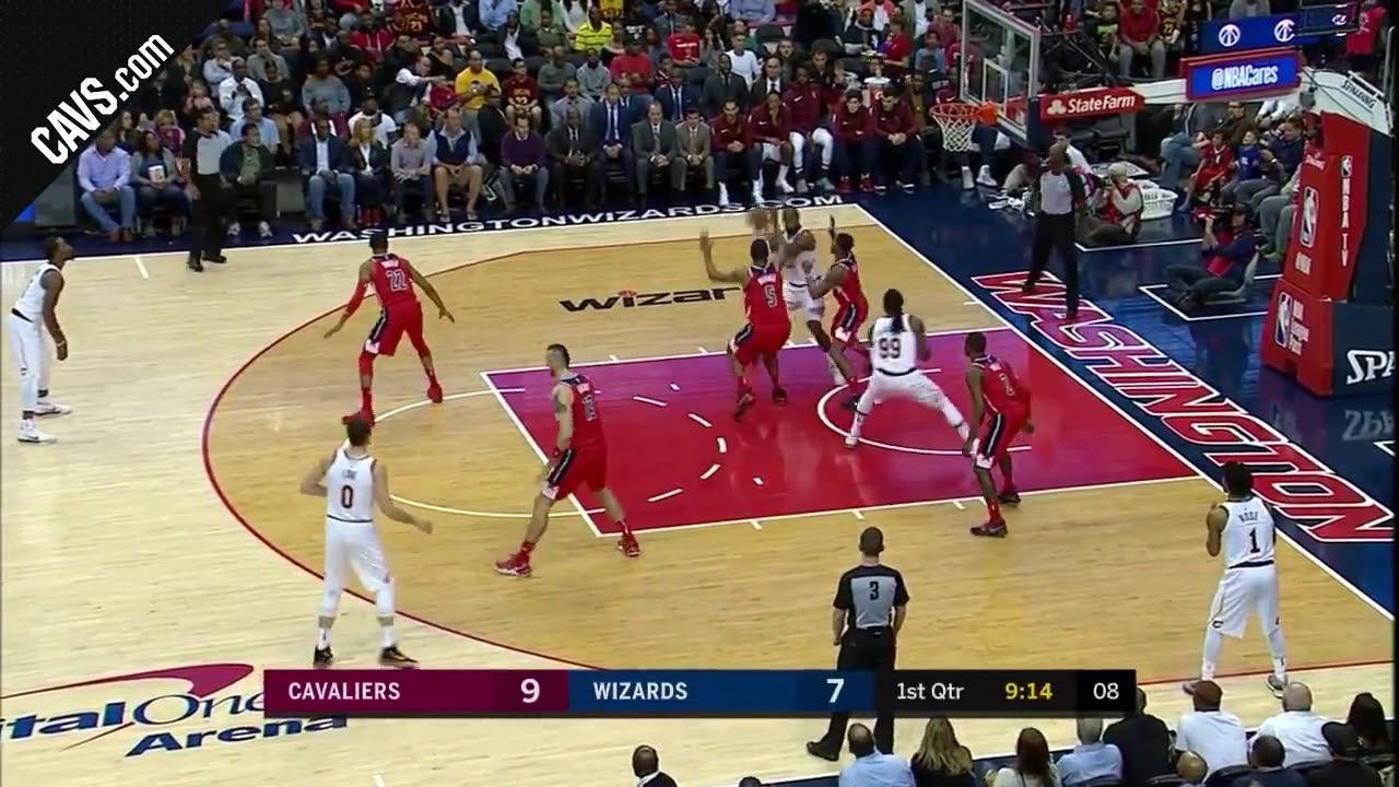 Download NBA : Tous les paniers des 57 points marqué par LeBron James face à Washington