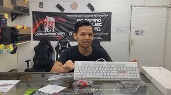 Mechanical Keyboard -1st Player FireDancing K3 Crystal Cap ( White )