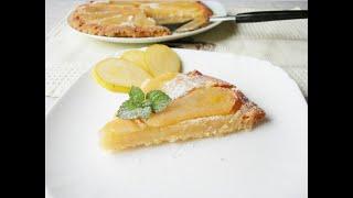 Грушевый пирог на скорую руку | quick pie
