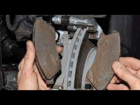 Как поменять тормозные колодки?