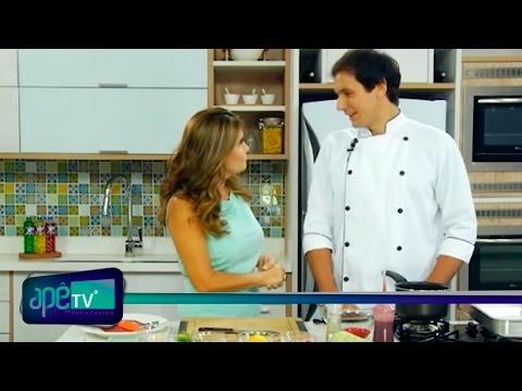 ApêTV - Receita Espaguete de abobrinha 12/06/16