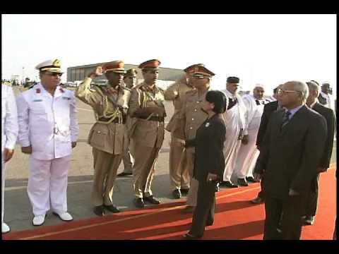 Arrival in Tripoli, Libya