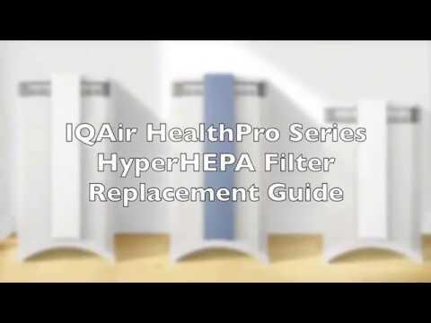 IQAir HealthPro Series HyperHEPA Filter Replacement Video