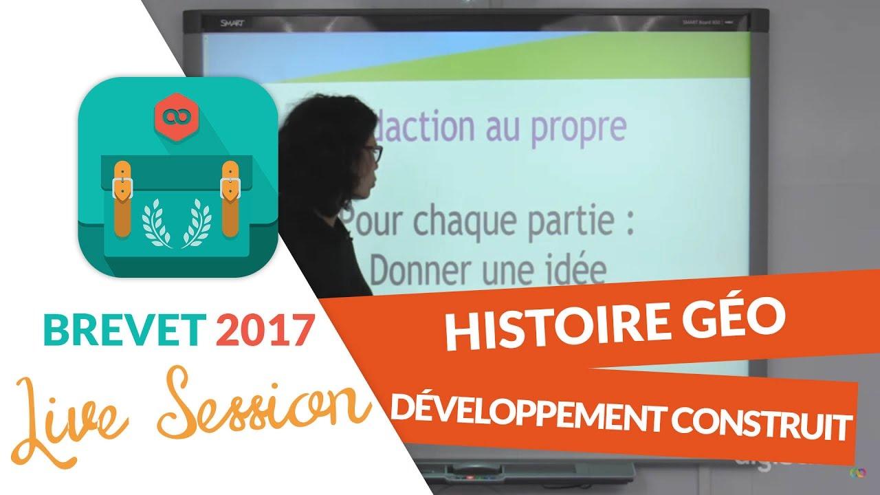 6f89f701b7e Brevet 2017   Méthodologie du développement construit en live - Histoire  Géo - digiSchool