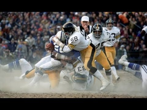 1976 AFC Playoffs Pittsburgh Steelers at Baltimore Colts YouTube