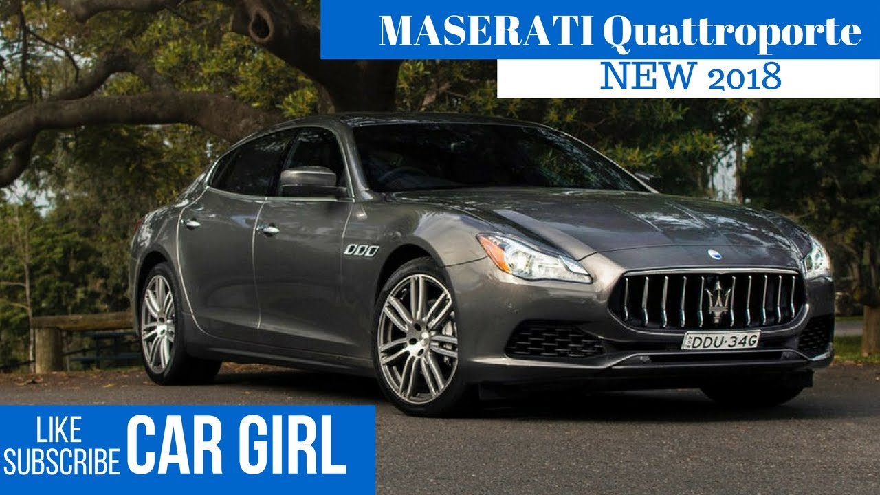 2018 Maserati Quattroporte Overview Youtube
