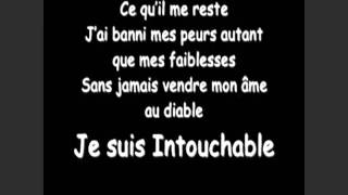 Intouchable - Sarah Riani - Karaoke