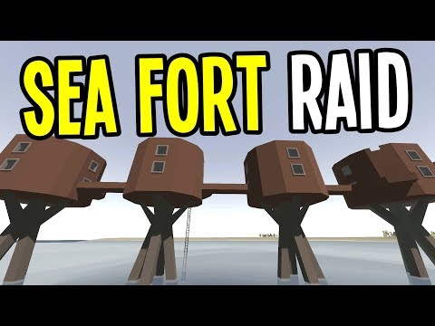 UNTURNED - Sea Forts Deadzone Quest!! (Ireland Map Multiplayer) - Ep 6