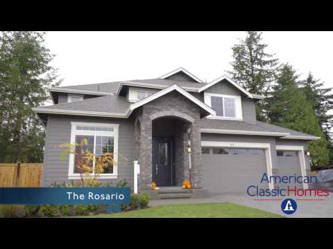 The Rosario Plan At Concord Place In Renton, WA | American Classic Homes