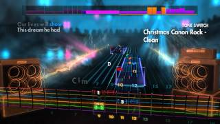 Let's Fail - Rocksmith 2014 Custom ~ Trans-Siberian Orchestra - Christmas Canon Rock (Lead Guitar)