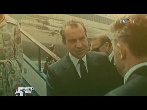 5 minute de istorie: Vizita lui Richard Nixon în România, din august 1969