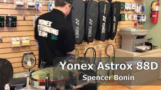 Time Lapse: How to String a Yonex Astrox 88D Badminton Racquet