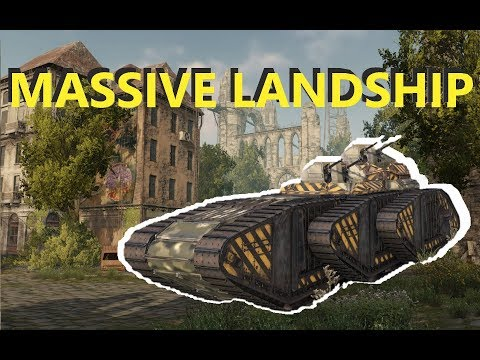 Crossout - Goliath Cyclone Landship