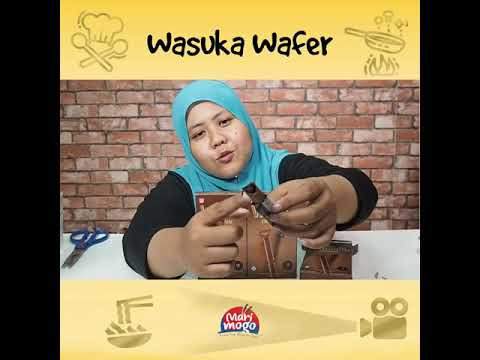 Review Wasuka Premium Wafer Chocolate
