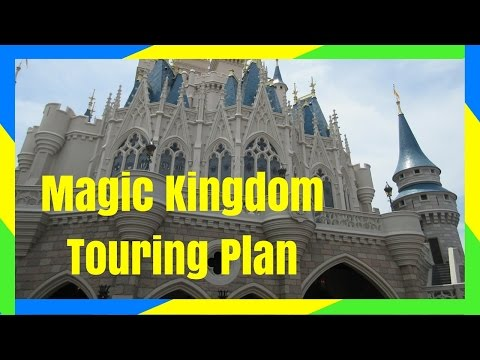 DISNEY MAGIC KINGDOM DAY 1 TOUR & ITINERARY