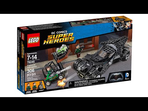 LEGO Batman v. Superman Kryptonite Interception set pictures!