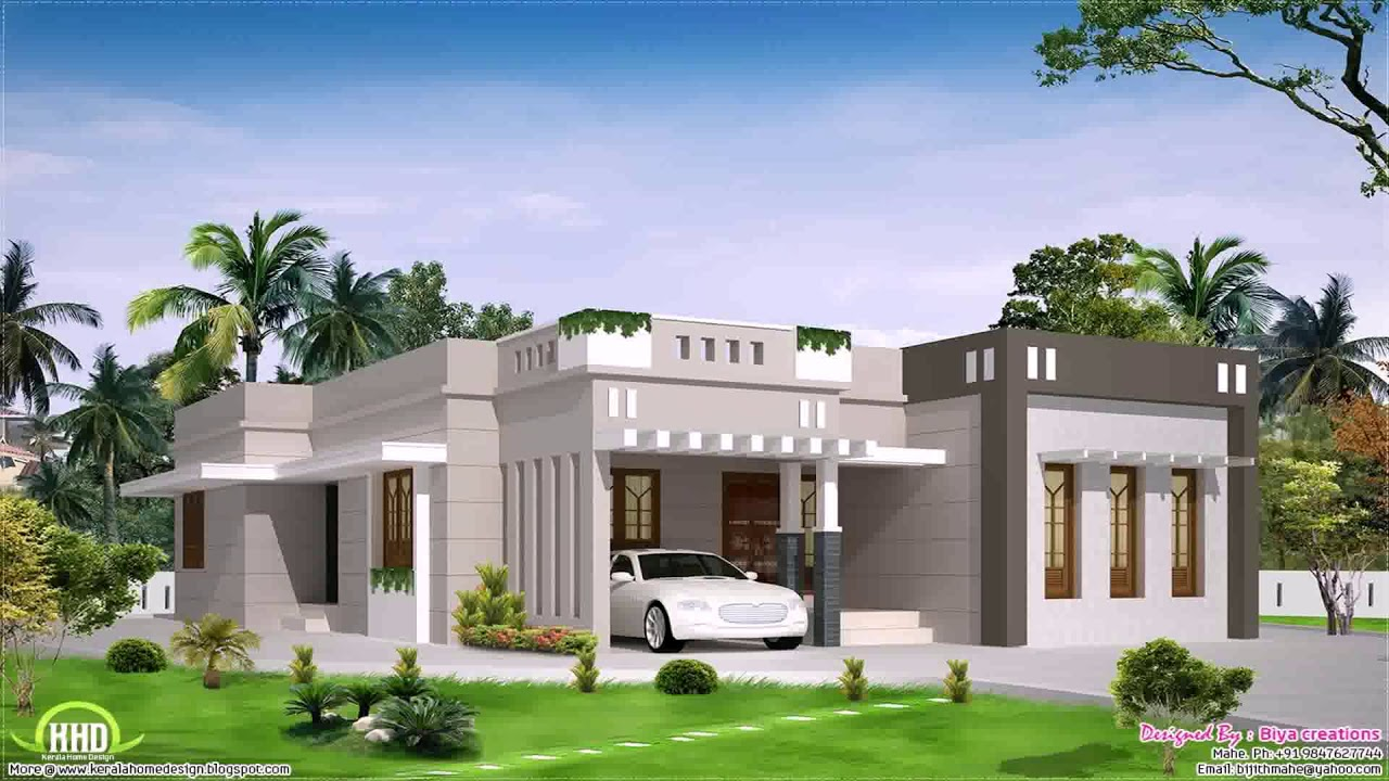 4 Bedroom Single Story House Plans Kerala YouTube – 4 Bedroom House Plans In Kerala Single Floor