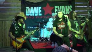Dave Evans & Finnish Badasses - Only The Good Die Young (Finland - Tuusula 23.7.2016)