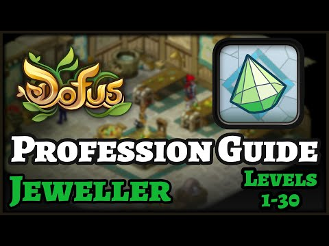 Dofus Guide: How to level Jeweller Profession – FAST & CHEAP! Levels 1 to 30! Echo & Illyzaelle