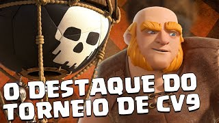 O DESTAQUE DO TORNEIO DE CV9 - INVESTIGUE O QUE DEU ERRADO - CLASH OF CLANS