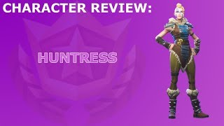 Huntress Outfit Review + Skin Showcase! ~ Season 5 Battle Pass Item ~ Fortnite Battle Royale