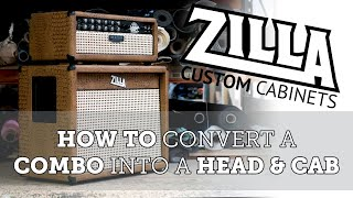 How to - Combo to head conversion - Mesa Boogie Rectoverb