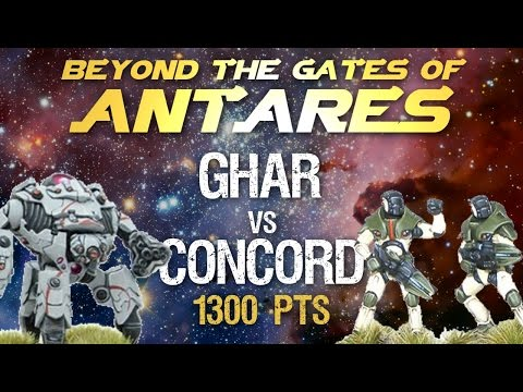 Antares 001. Ghar vs Concord, 1300 pts, 03.04.2016
