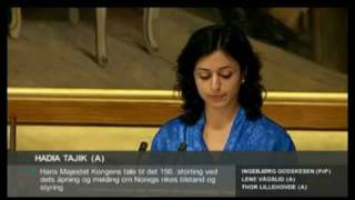 Hadia Tajik: Nytenkning, ikke markedstenkning