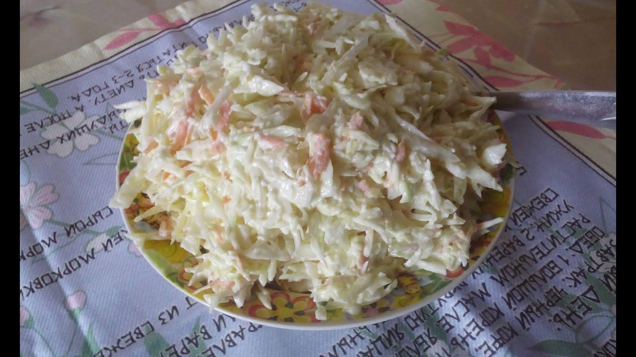 Как нарезать капусту на салат видео