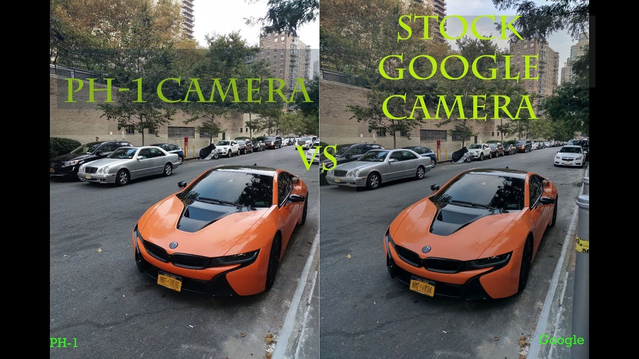Essential Ph-1 Phone Camera Review vs Stock Google Camera App