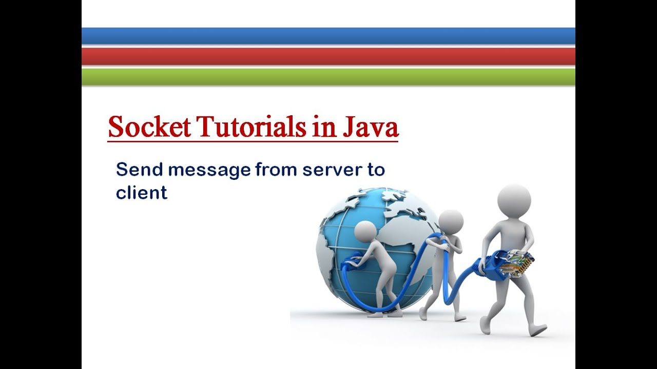 How to Send Message from Server to Client # Socket Tutorials