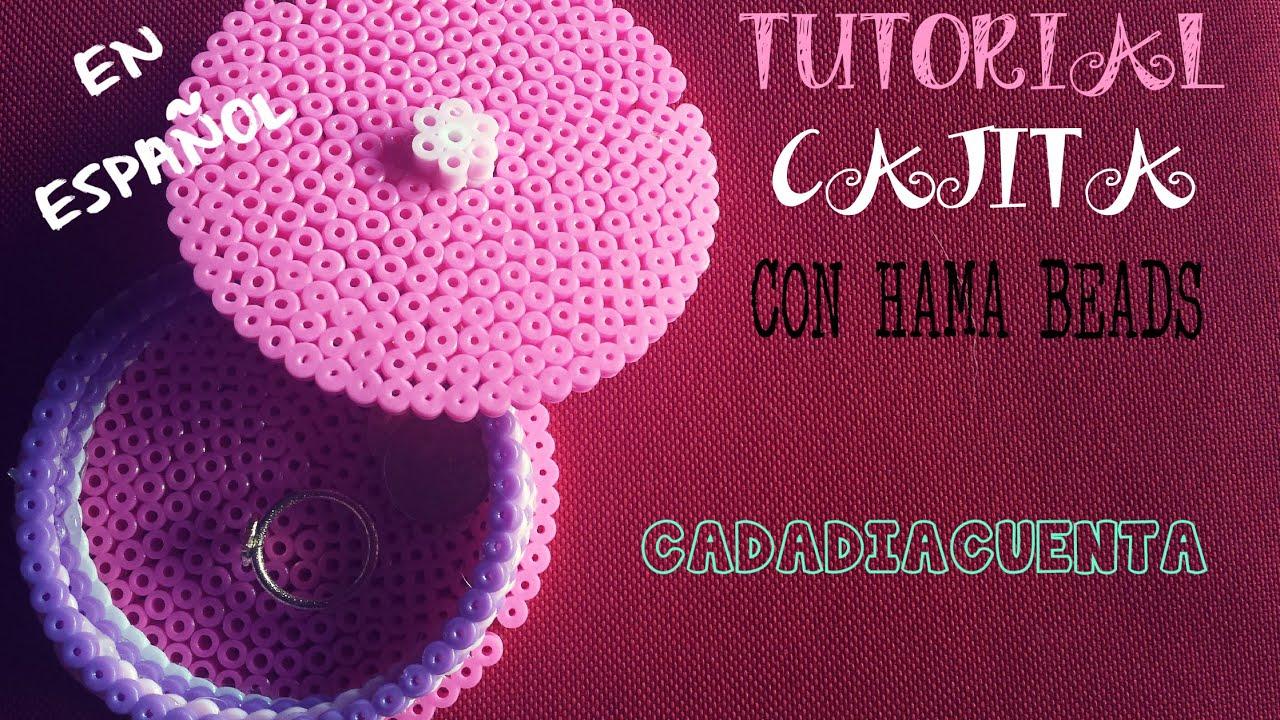Tutorial C 211 Mo Hacer Una Caja Con Hama Beads Perler Beads