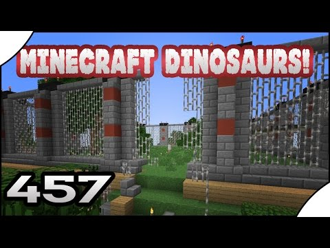 Minecraft Dinosaurs! || 457 || TREX ESCAPE!!