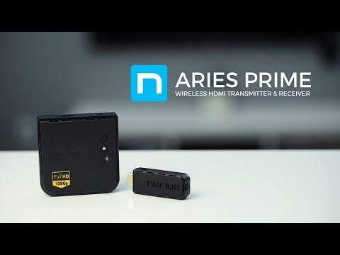 Nyrius ARIES Prime Wireless HDMI Transmitter & Receiver System (NPCS549)