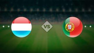 Португалия Люксембург Чемпионат мира 2022 Европа 8 й тур по футболу онлайн смотреть
