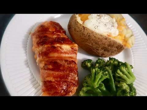 Easy Bacon Wrapped Chicken Breasts | Cooking With Cee