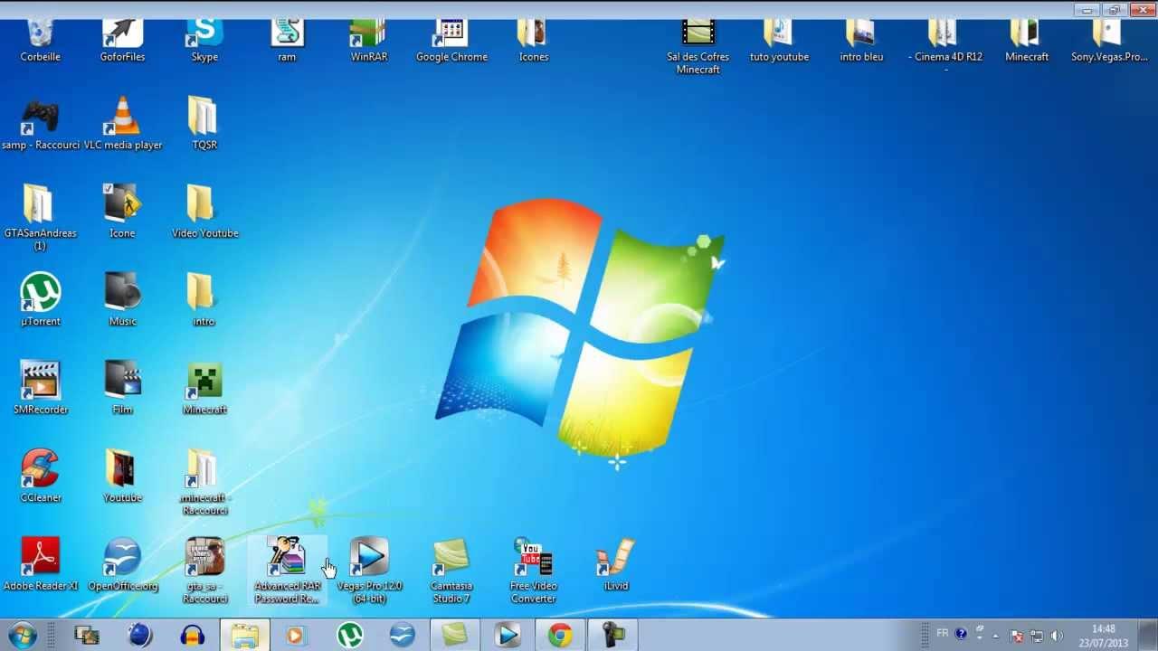 Tuto fr comment changer les ic nes de son bureau - Comment mettre des icones sur le bureau ...