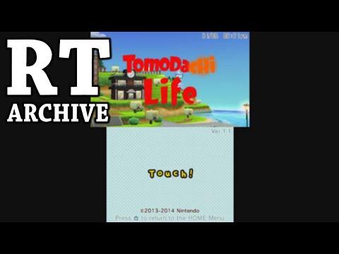 RTGame Archive:  Tomodachi Life + Nintendogs