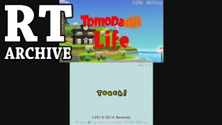 RTGame Archive:  Tomodachi Life + Nintendogs