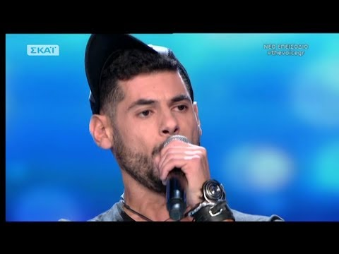 The Voice of Greece 4 - Blind Audition - I WHO HAVE NOTHING - Kostas Mpourgiotis