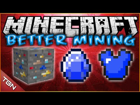 Minecraft 1.7.10 / 1.8 | Better Mining MOD | [ Ruby, Zafiro, Lucky Ores y Mas! ]